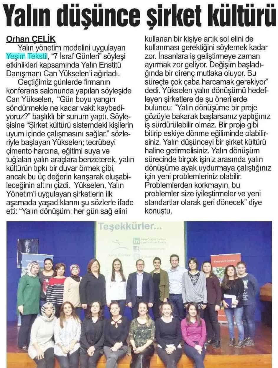 Bursa Kent 23 Mart