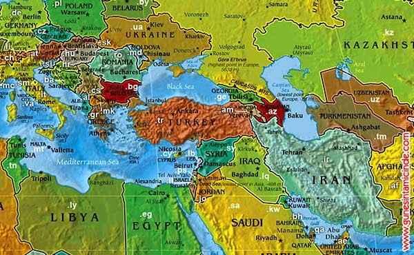 map-turkey